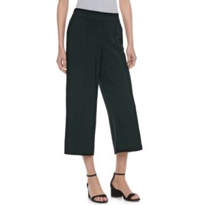 Women's ELLE™ Wide Leg Crop Pants